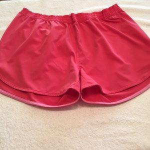 World Wide Sportsman pink coral athletic shorts XL